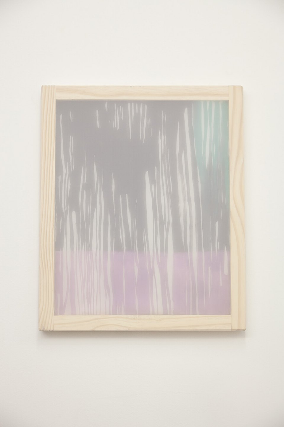 Marina Perez Simão<em>,Untitled</em>, 2012, acrylic and pigment iridescent on polyester and overlay canvas, 60×50 inches - Mendes Wood DM