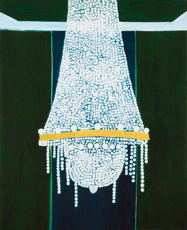 Patricia Leite, <em>Untitled (After Daises)</em>,2011, oil on wood, 160 × 130 cm - Mendes Wood DM