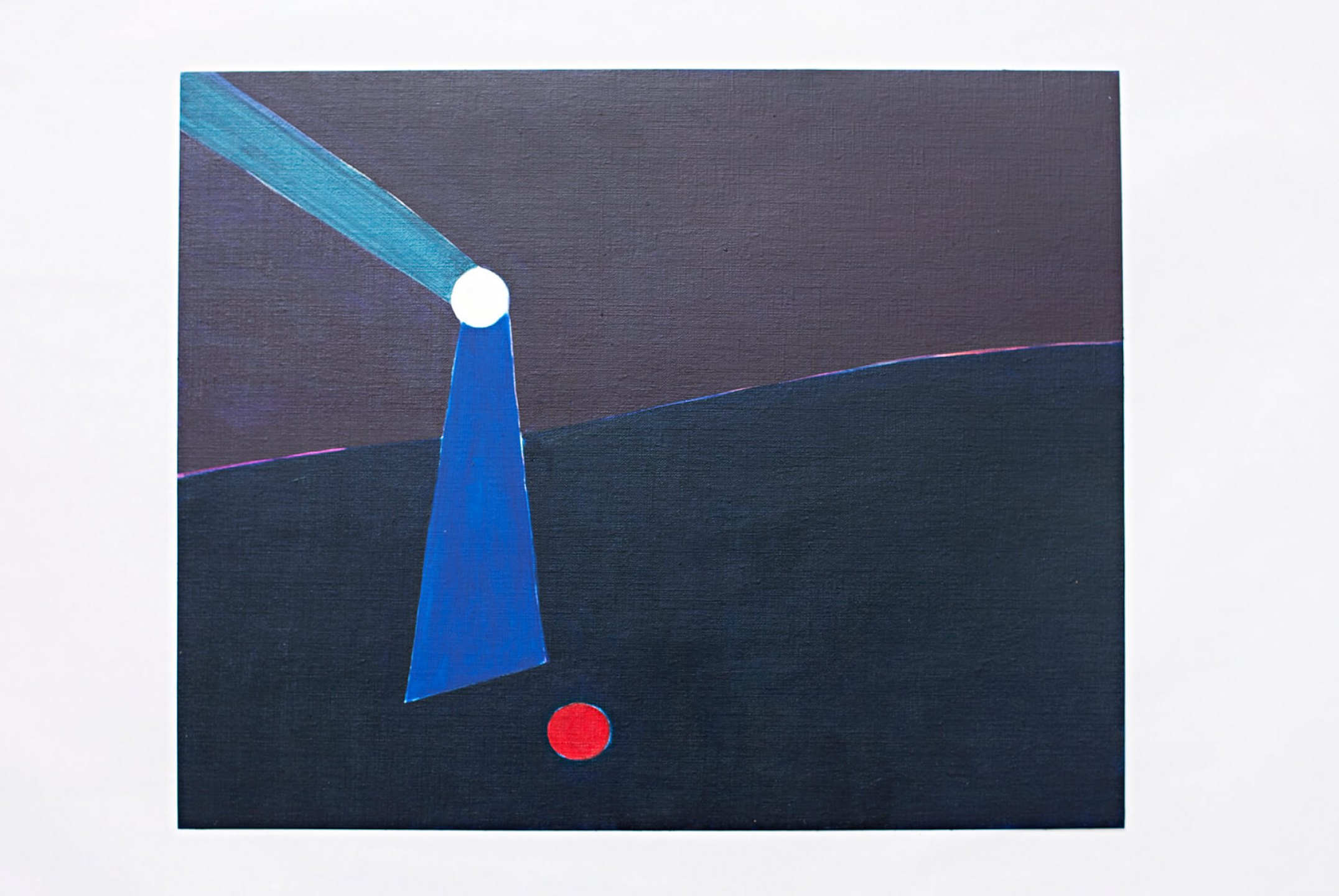 Patricia Leite, <em>Lighthouse,</em>2013, oil on paper, 33 ×41 cm - Mendes Wood DM