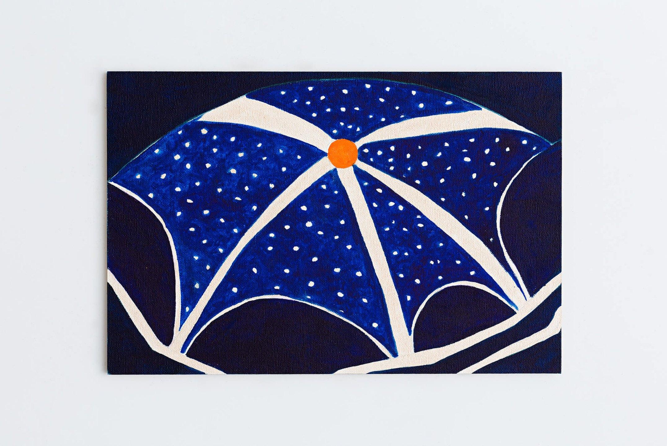 Patricia Leite, <em>Italy,</em>2014, oil on wood, 30 ×20 cm - Mendes Wood DM