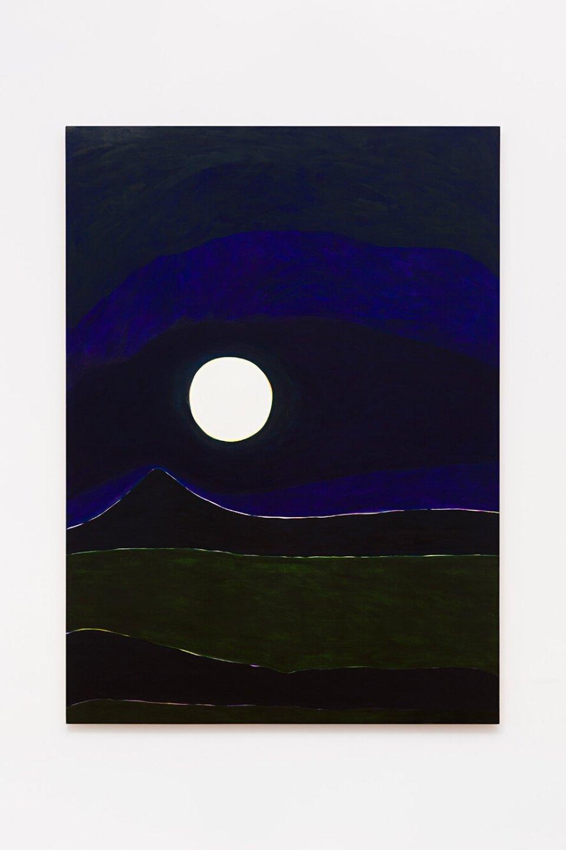 Patricia Leite, <em>Super Moon</em>, 2014, oil on wood, 220 × 160 cm - Mendes Wood DM