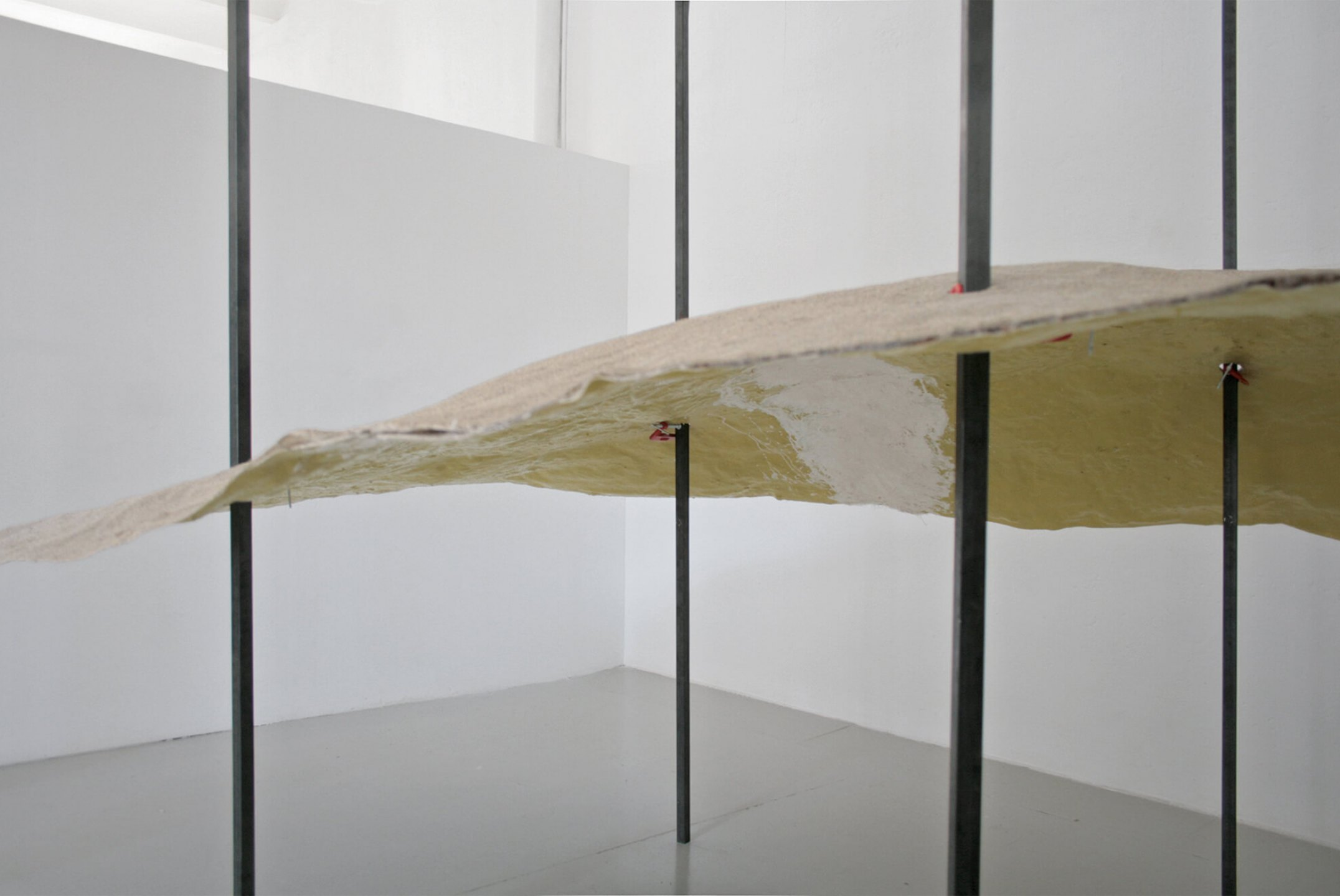 Daniel Steegmann Mangrané,<em>Economic Dune</em>, 2012, fiberglass and sand, 3,50 × 2,50 ×1 m - Mendes Wood DM