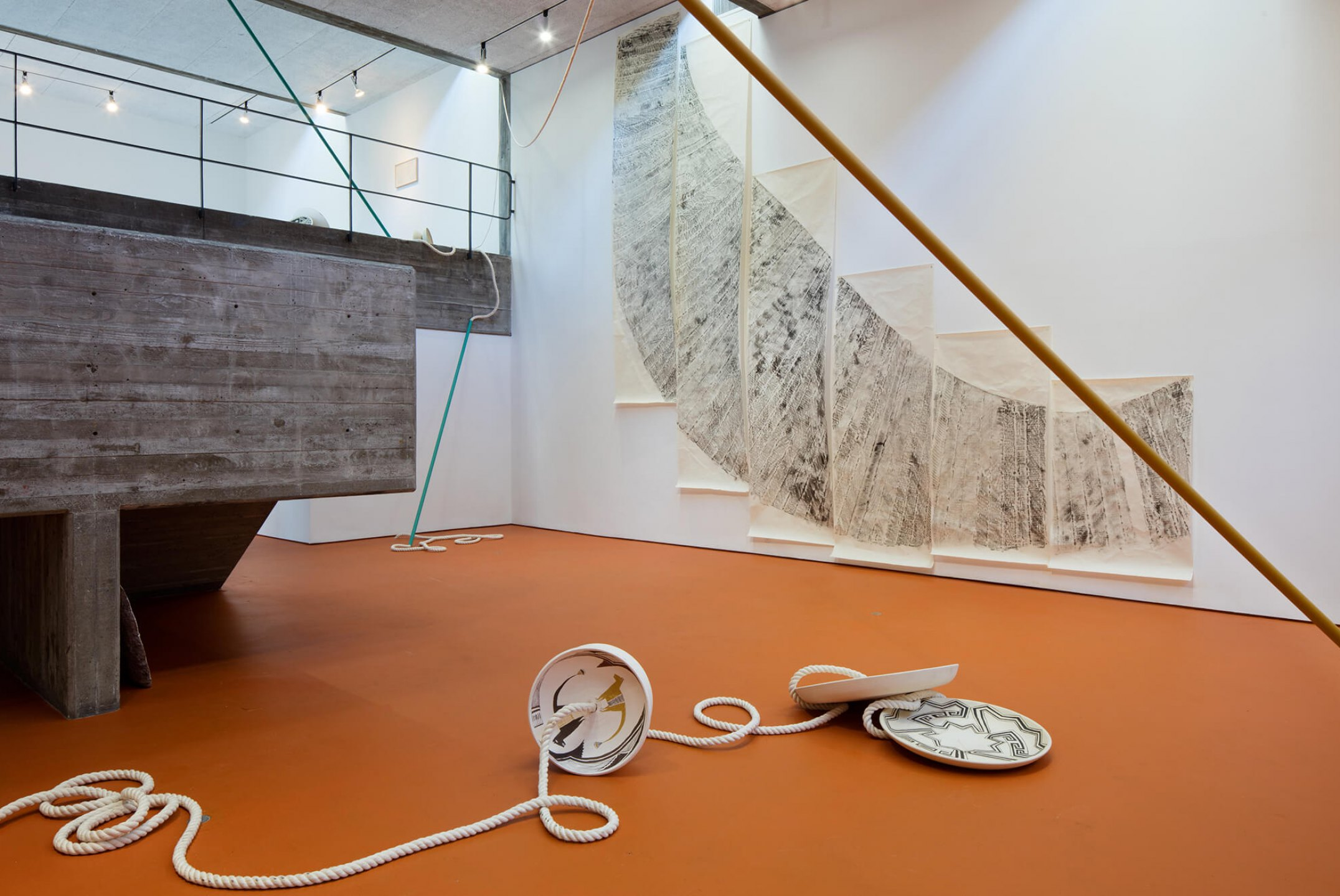 Mariana Castillo Deball, <em>Feathered Changes, Serpent Disappearances,</em> 2016, San Francisco Art Institute, San Francisco - Mendes Wood DM
