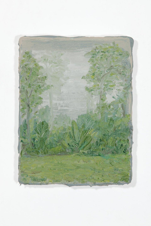 Lucas Arruda, <em>untitled</em>, 2012, oil on canvas, 25 × 19 × 3 cm - Mendes Wood DM