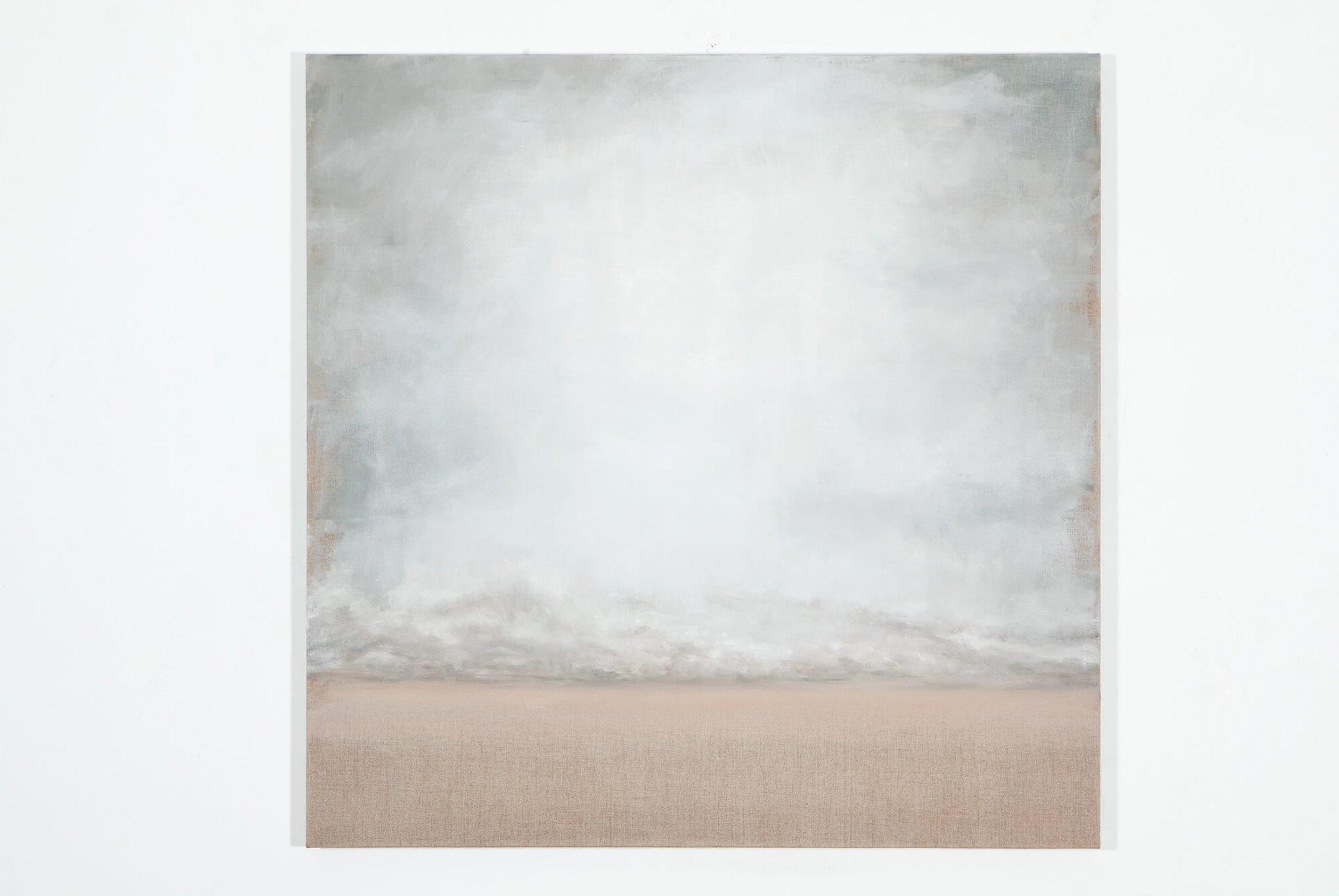 Lucas Arruda,<em>untitled</em>, 2012, oil on canvas, 80 × 80 ×2,5 cm - Mendes Wood DM