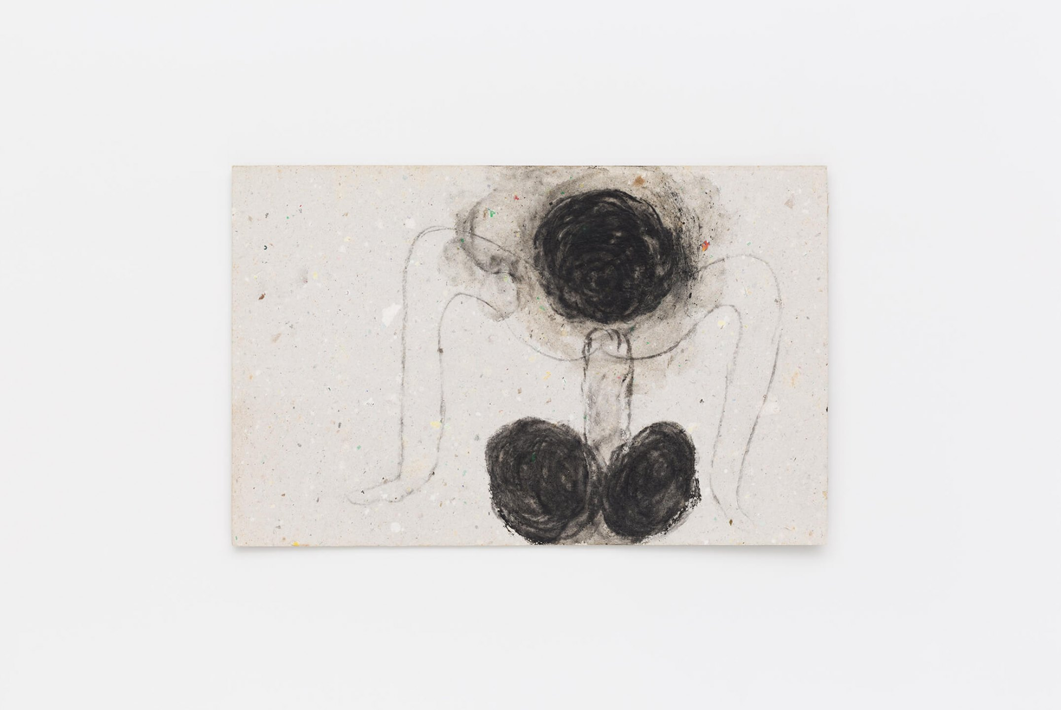 Solange Pessoa,&nbsp;<em>untitled</em>, 2009, pastel on cardboard, 17,4 × 27 cm - Mendes Wood DM