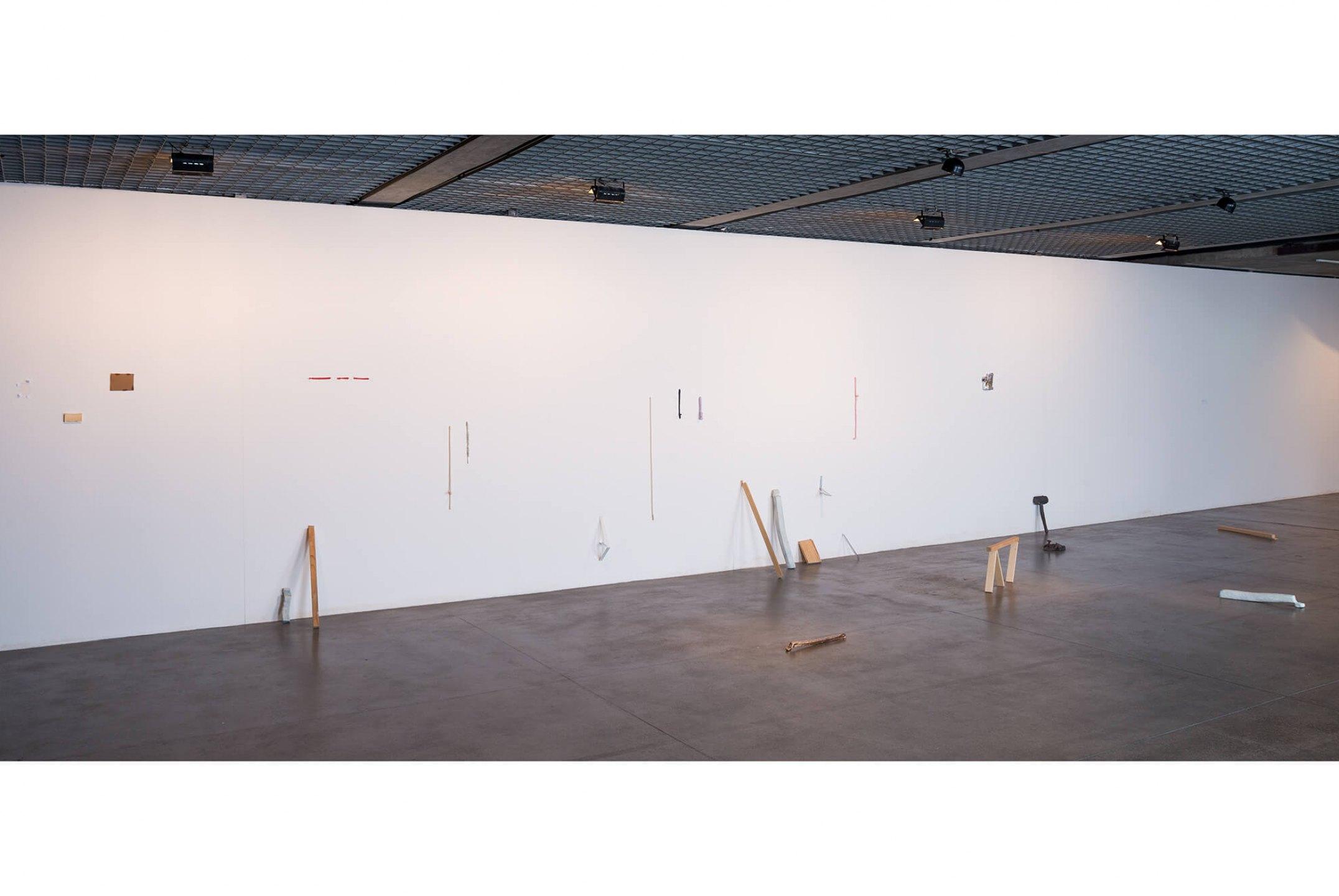Paulo Monteiro, <em>Betão à Vista</em>, Museu Brasileiro de Escultura, 2013 - Mendes Wood DM
