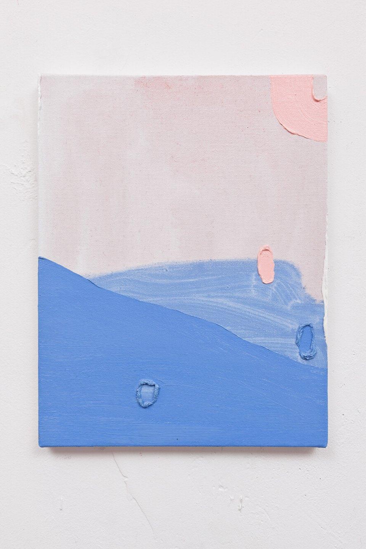 Paulo Monteiro,<em>untitled,</em>2012, oil on linen, 35 × 28 cm - Mendes Wood DM