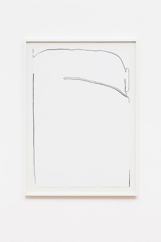 Paulo Monteiro,<em>untitled</em>, 2003, graphite on paper, 76,5× 113cm <br><br><br> - Mendes Wood DM