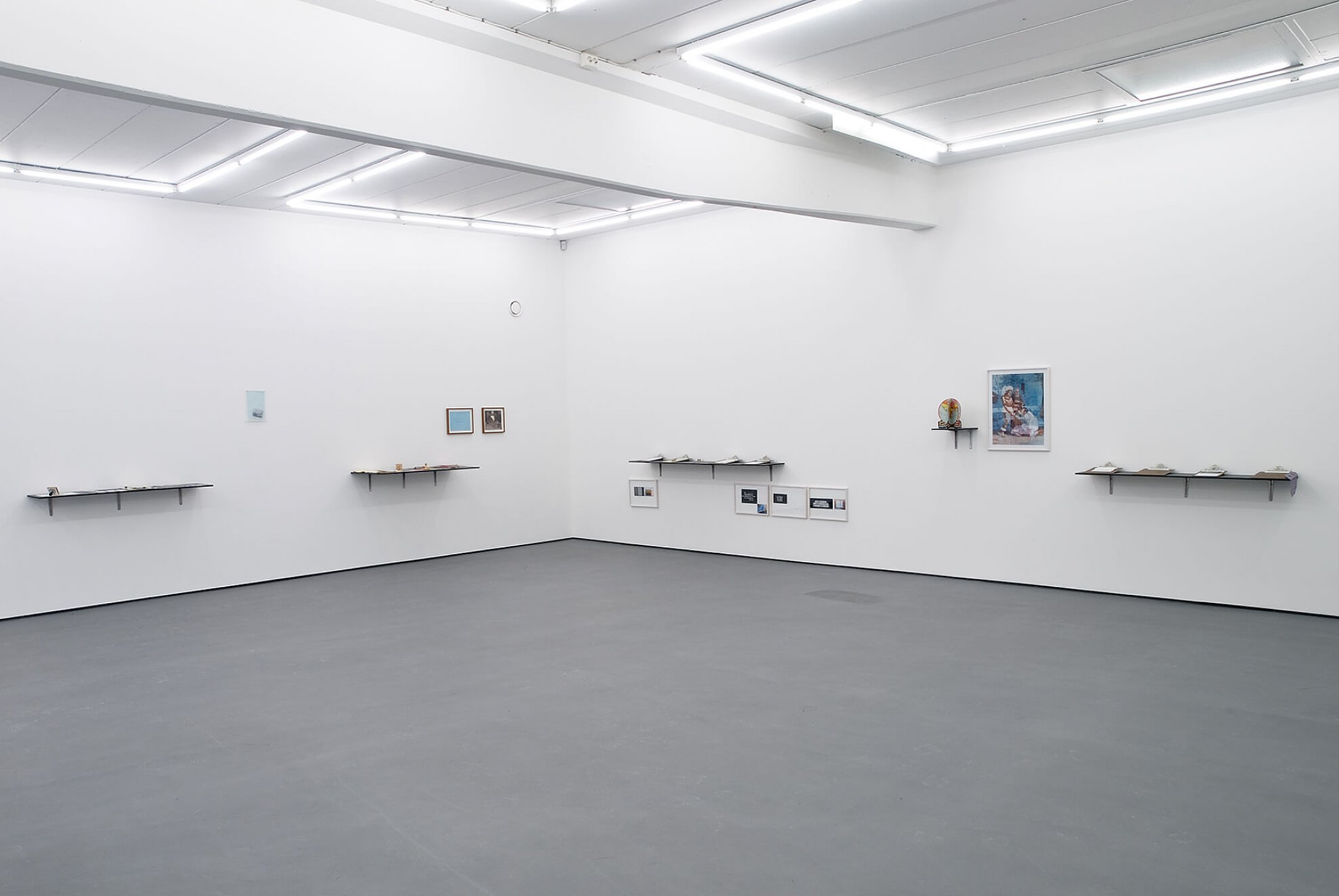 Runo Lagomarsino,<em>Las Casas is Not a Home,</em>2008/2010,Installation withobjects, sculpture, video, drawings prints and shelves, variable dimensions - Mendes Wood DM