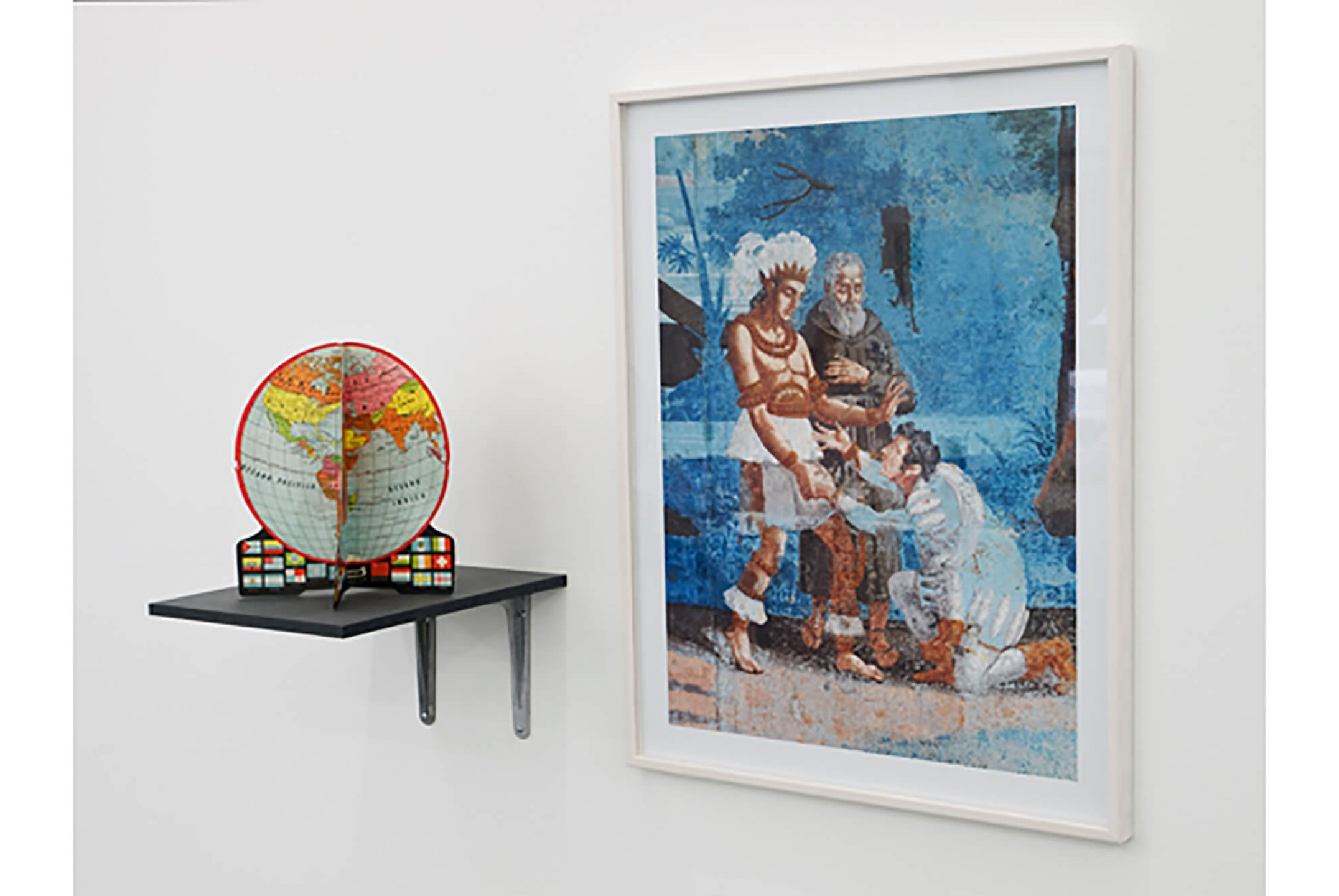 Runo Lagomarsino,<em>Las Casas is Not a Home,</em> 2008/2010,Installation withobjects, sculpture, video, drawings prints and shelves, variable dimensions - Mendes Wood DM