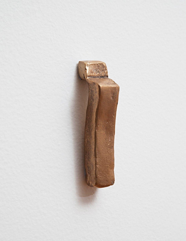 Paulo Monteiro,&nbsp;<em>untitled</em>, 2013, bronze, 10 × 2 × 2,5 cm - Mendes Wood DM