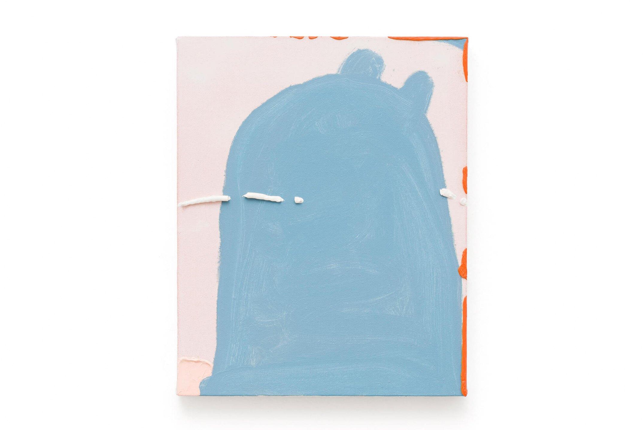 Paulo Monteiro, <em>untitled</em>, 2014, oil on canvas, 36 × 29 cm - Mendes Wood DM