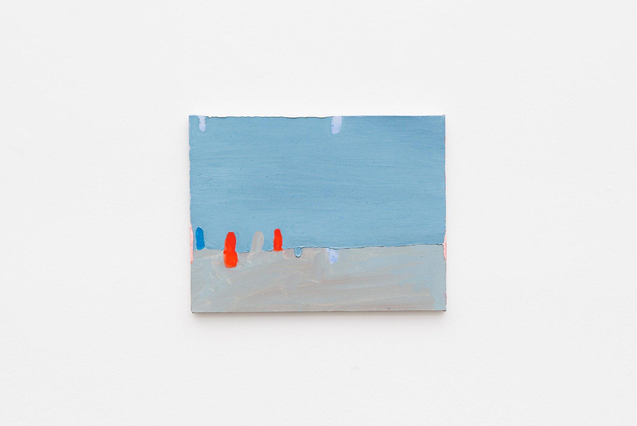 Paulo Monteiro,<em>untitled</em>, 2012, oil on canvas, 27×35 cm - Mendes Wood DM