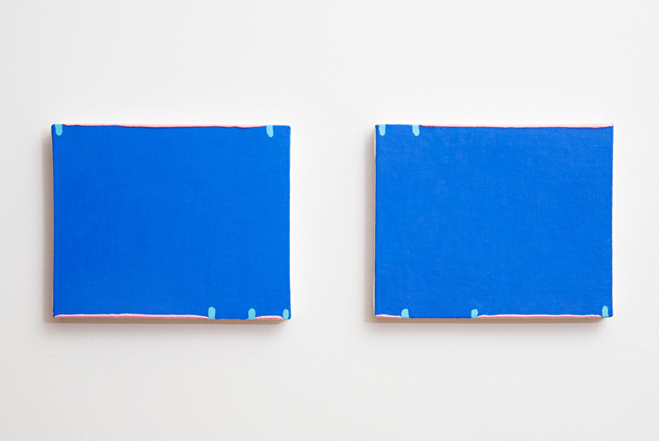 Paulo Monteiro, <em>untitled,</em> 2013, oil on canvas, 20×25 cm (each) - Mendes Wood DM