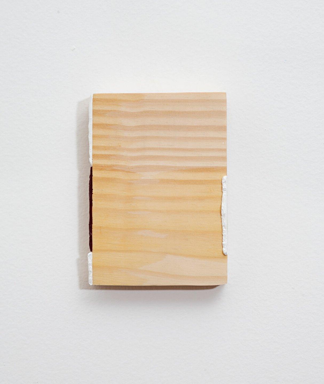 Paulo Monteiro,&nbsp;<em>untitled</em>,&nbsp;2013, oil on wood, 15 × 10 cm - Mendes Wood DM