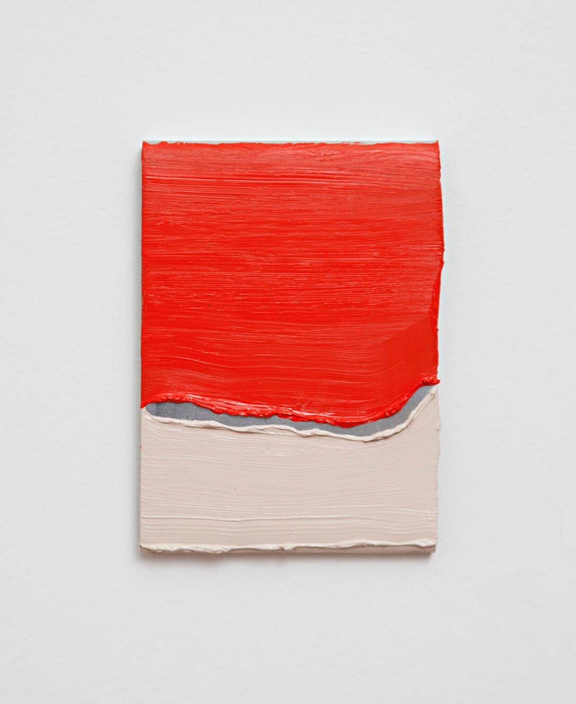 Paulo Monteiro,&nbsp;<em>untitled</em>, 2011, oil on aluminium, 12 ×&nbsp;9 cm - Mendes Wood DM