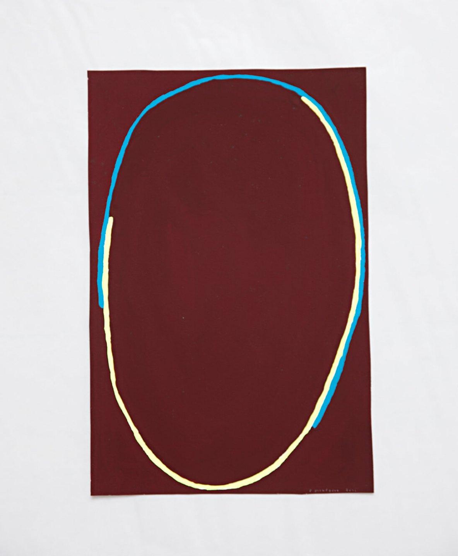Paulo Monteiro,<em> untitled,</em> 2011, gouache on paper, 17,5 × 27 cm - Mendes Wood DM