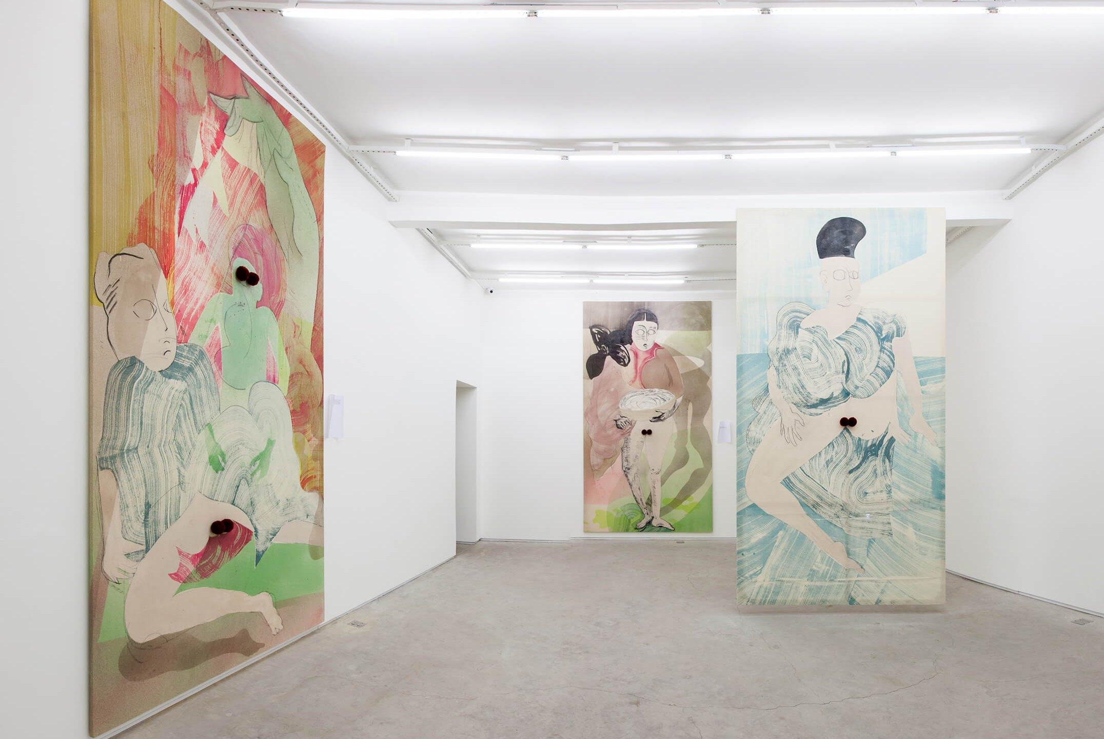 Matthew Lutz-Kinoy,<em>Princess Pompom in The Villa of Flowers,</em>Mendes Wood DM, São Paulo, 2015 - Mendes Wood DM