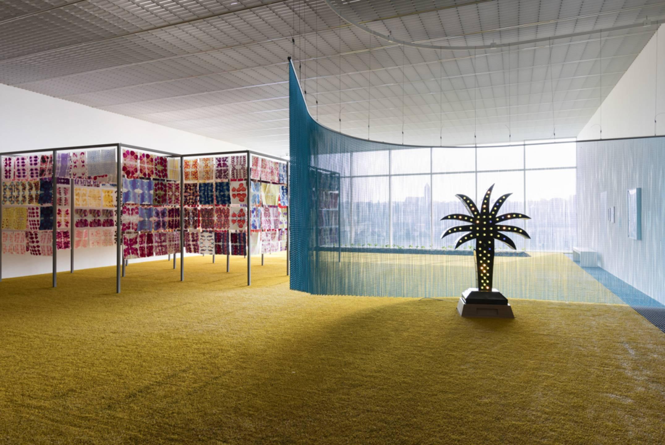 Daniel Steegmann Mangrané,<em> Infinite Garden, </em>Centre Pompidou Metz, Metz, 2017 - Mendes Wood DM