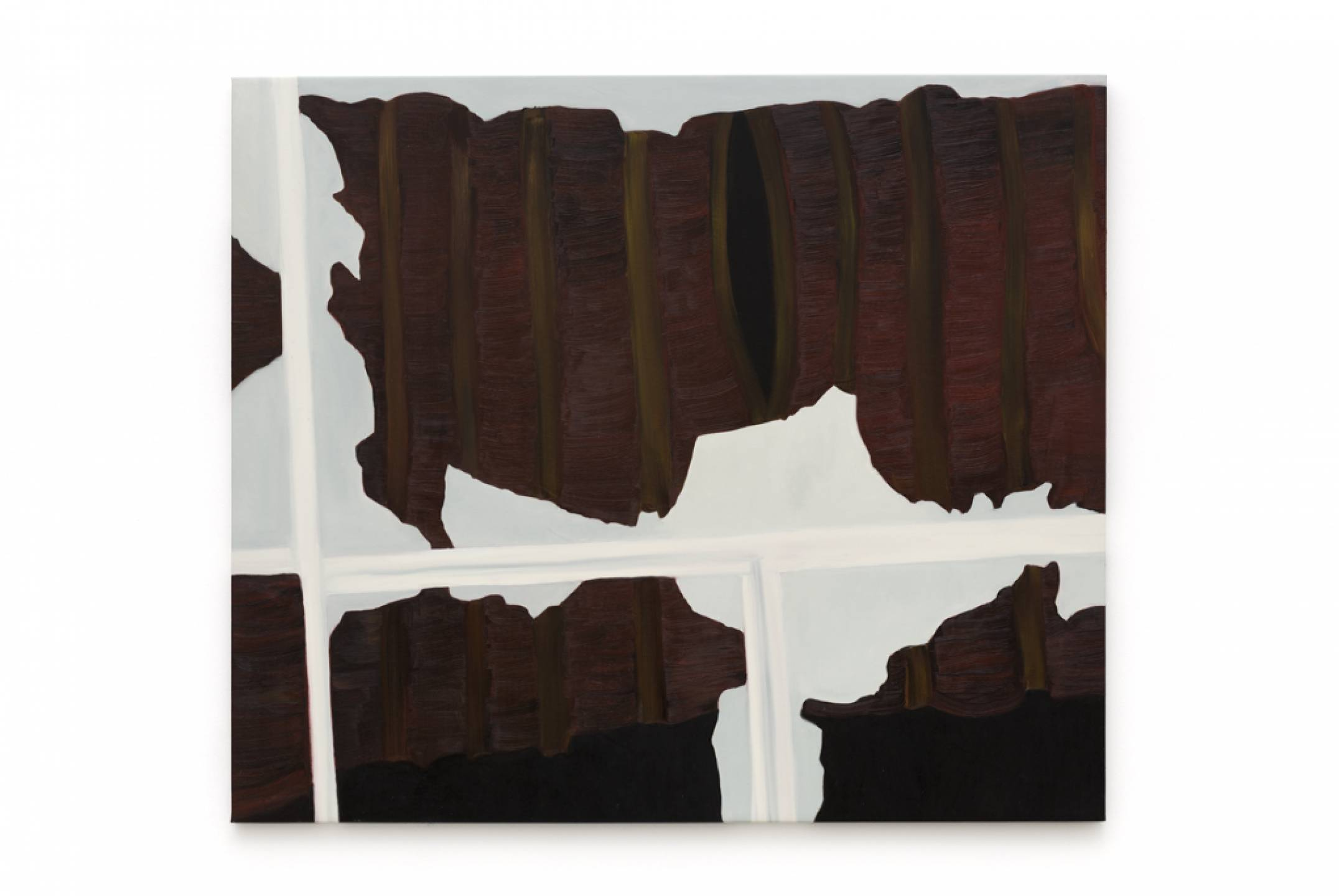 Marina Perez Simão,&nbsp;<em>untitled</em>, 2017,&nbsp;oil on canvas, 130 × 150 cm - Mendes Wood DM