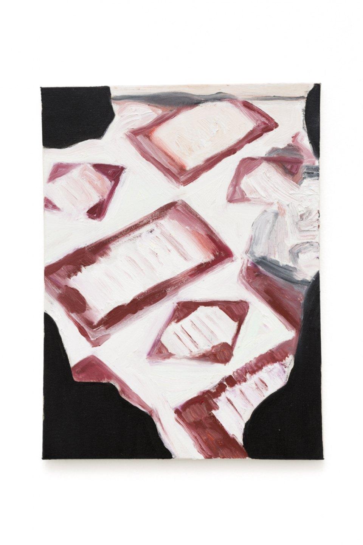 Marina Perez Simão,<em>&nbsp;untitled</em>,&nbsp;2017,&nbsp;oil on canvas, 40 × 30 cm - Mendes Wood DM