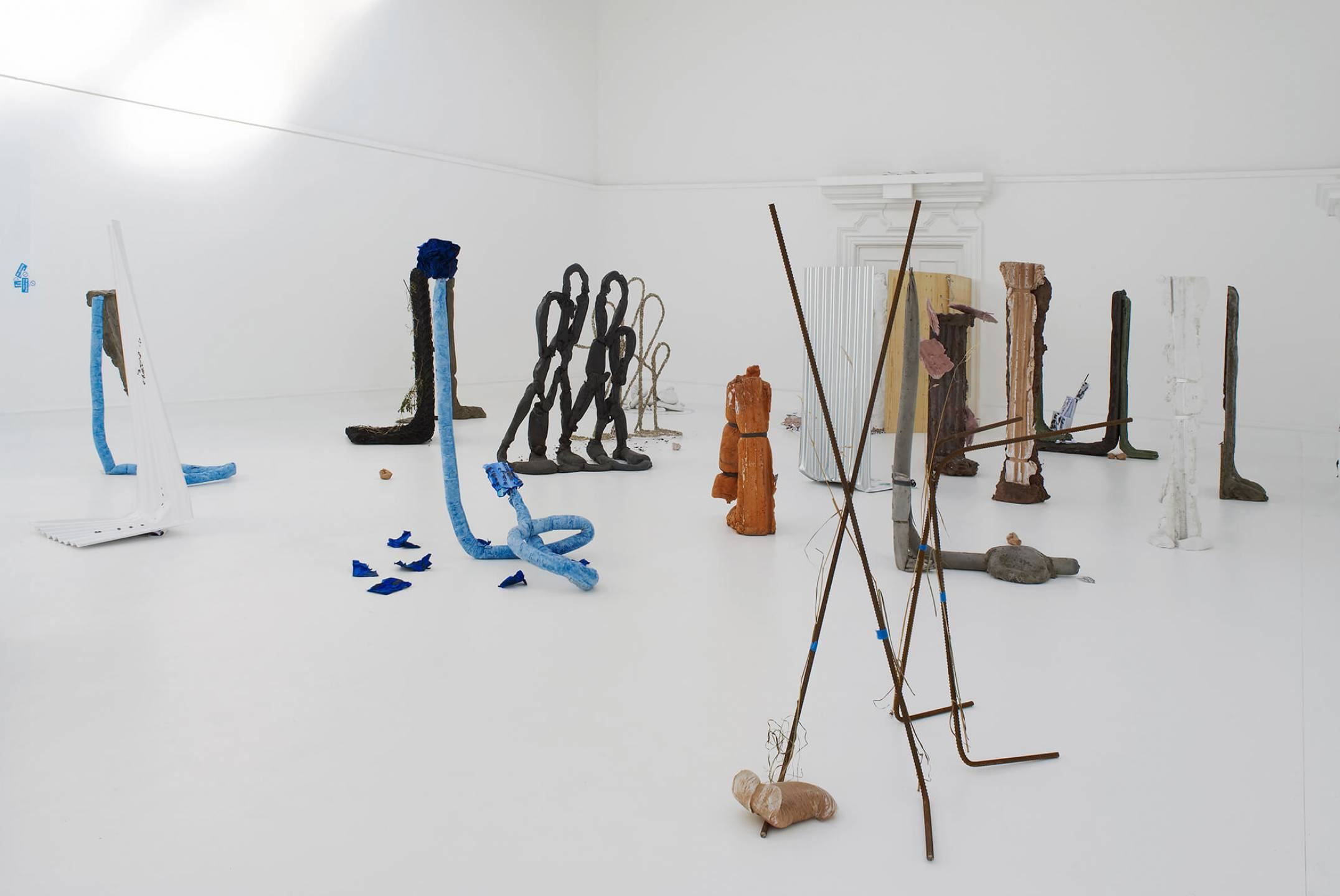 Michael Dean,<em>Michael Dean: Sic Glyphs</em>,South London Gallery, London, 2016 - Mendes Wood DM