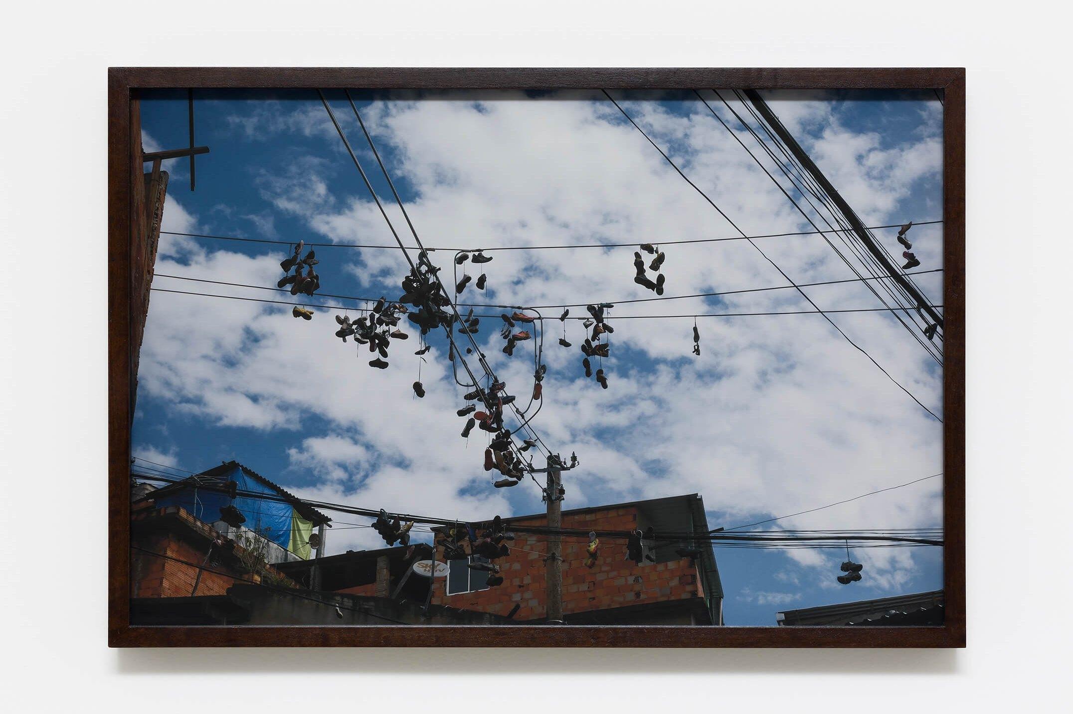 Haroon Gunn-Salie, <em>On the line</em>,2016,print on paper,59,4 × 39,6 cm<br><br> - Mendes Wood DM