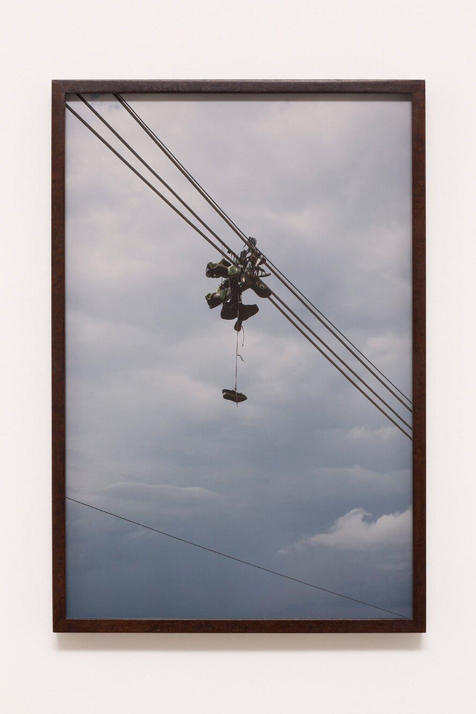Haroon Gunn-Salie,<em>On the line</em>,2016,print on paper, 39,6 ×59,4cm<br><br> - Mendes Wood DM