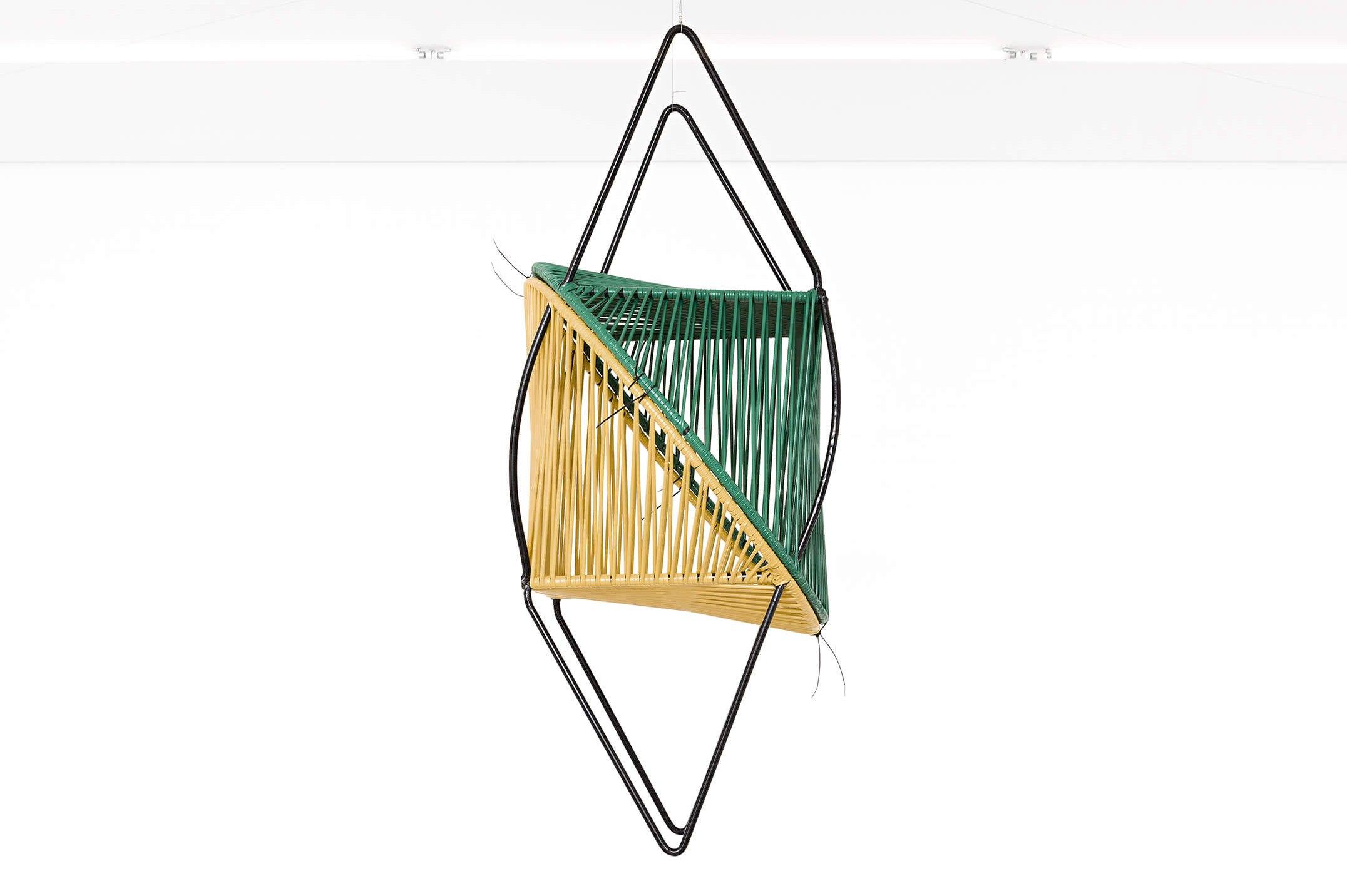 Adriano Costa,<em>São João Balloon</em>, 2015,two chairs,118 × 75 × 46 cm - Mendes Wood DM