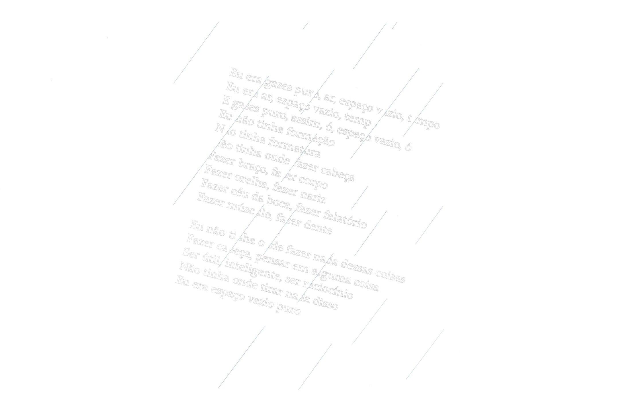 Daniel Steegmann Mangané,<em>Eu era gases puro, ar, espaço vazio, tempo,</em>2015,serigraphy and watercolor on wall,100 × 70 cm - Mendes Wood DM