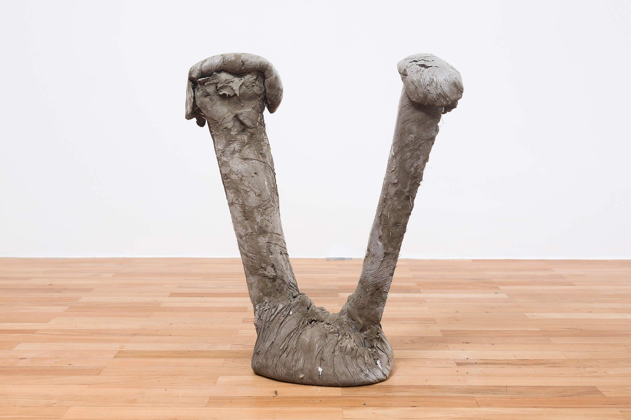Michael Dean, <em>Now (Working Title)</em>, 2015, concrete, 79,5 × 67 × 30 cm - Mendes Wood DM