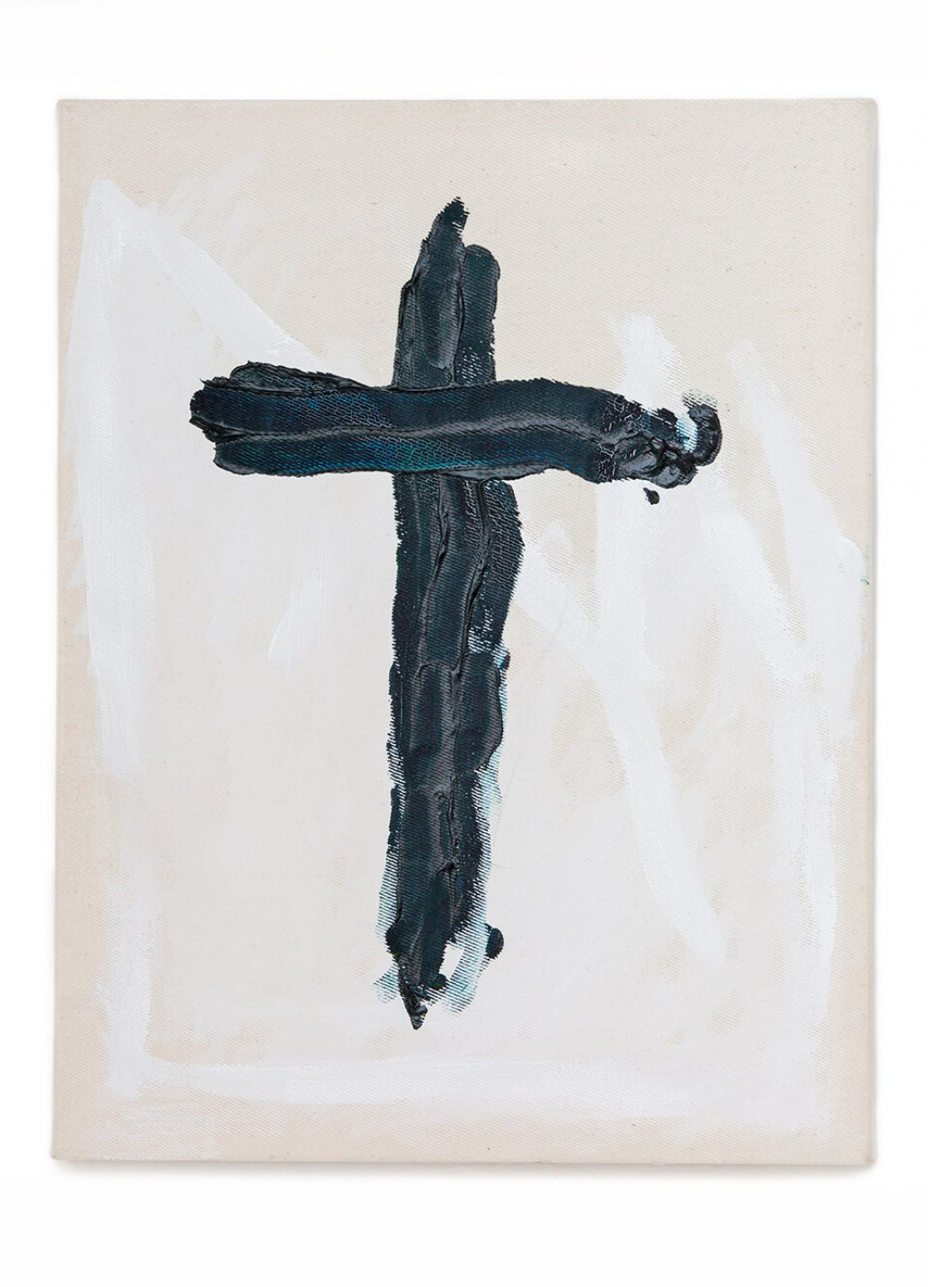 Anderson Godinho, <em>Cruz</em>, 2014, oil on canvas, 35 ×27 cm - Mendes Wood DM