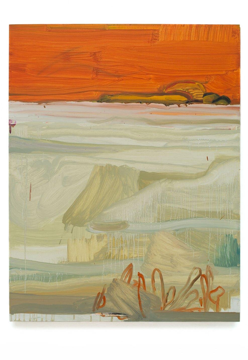 Alexandre Wagner, <em>Sal e Coral</em>, 2014, oil on canvas, 90 × 70 cm - Mendes Wood DM