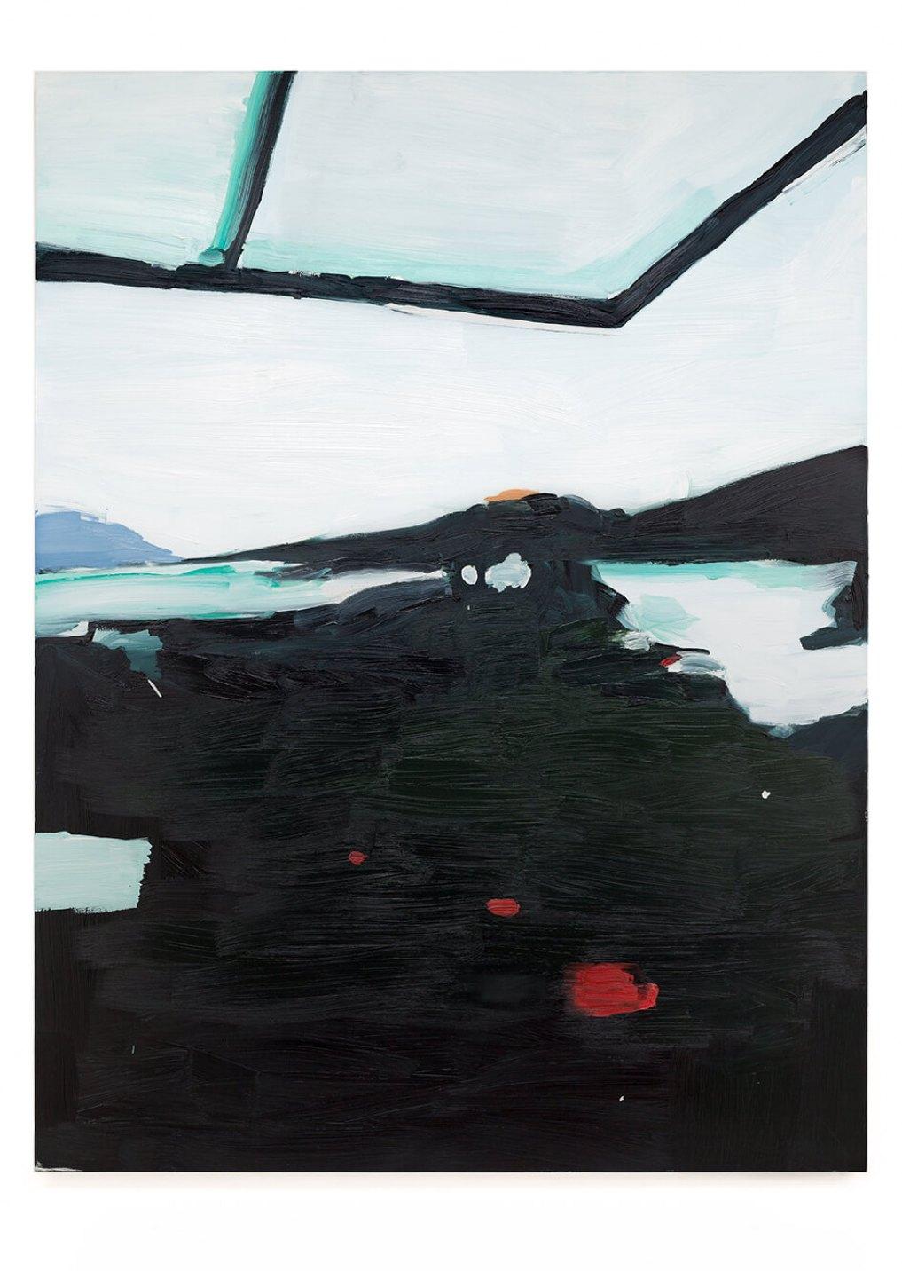 Luís Teixeira,<em>untitled</em>, 2014, oil on canvas, 160 ×120 cm - Mendes Wood DM