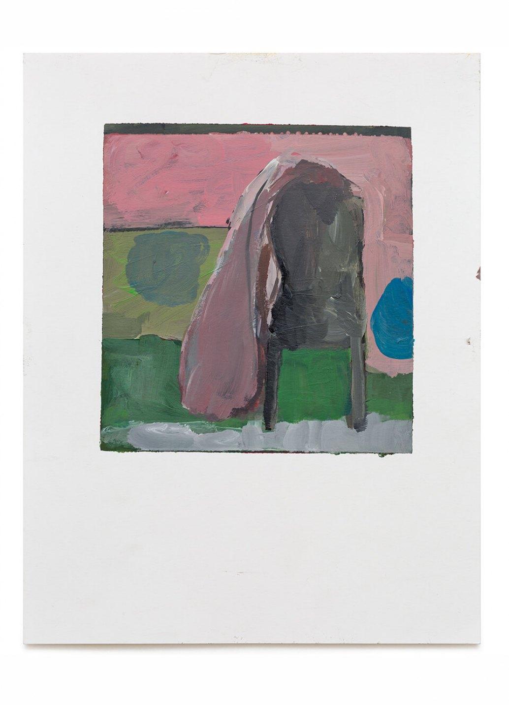 Samuel Rodrigues,<em>untitled</em>, 2014, acrylic on paper, 35 × 27 cm - Mendes Wood DM