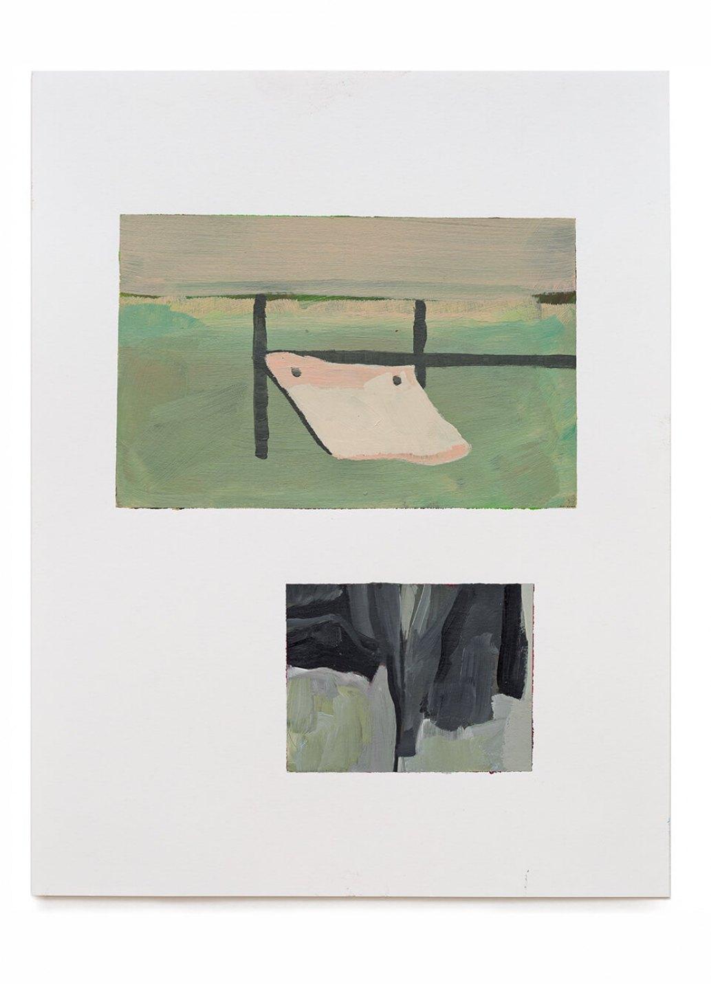 Samuel Rodrigues, <em>untitled</em>, 2014, acrylic on paper, 35 × 27 cm - Mendes Wood DM