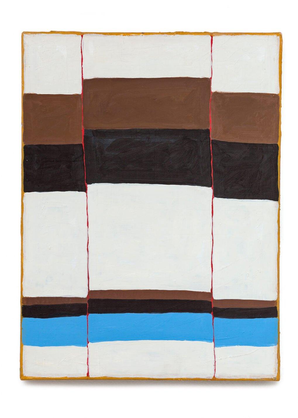 Thomaz Rosa, <em>plisse</em>, 2014, oil on canvas, 40 × 30 cm - Mendes Wood DM