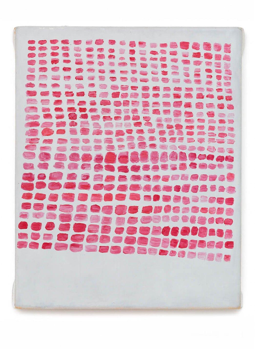 Thomaz Rosa, <em>Post-it</em>, 2015, oil on canvas, 30 × 24 cm - Mendes Wood DM
