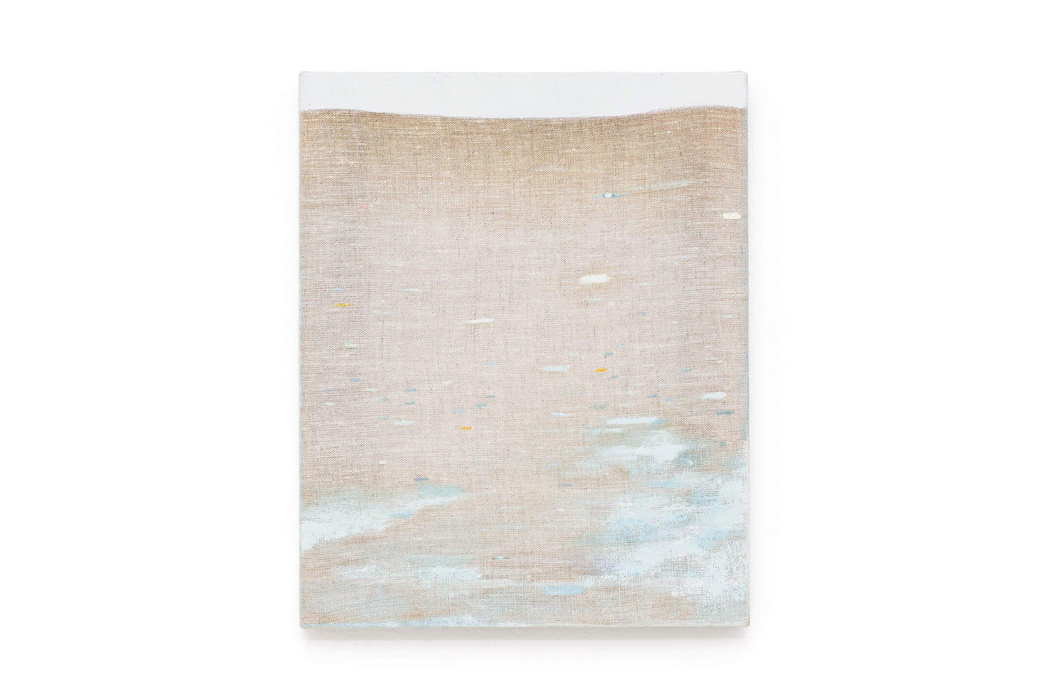 Yasmin Guimarães, <em>untitled</em>, 2016, oil on linen, 30,5 × 24,5 cm - Mendes Wood DM