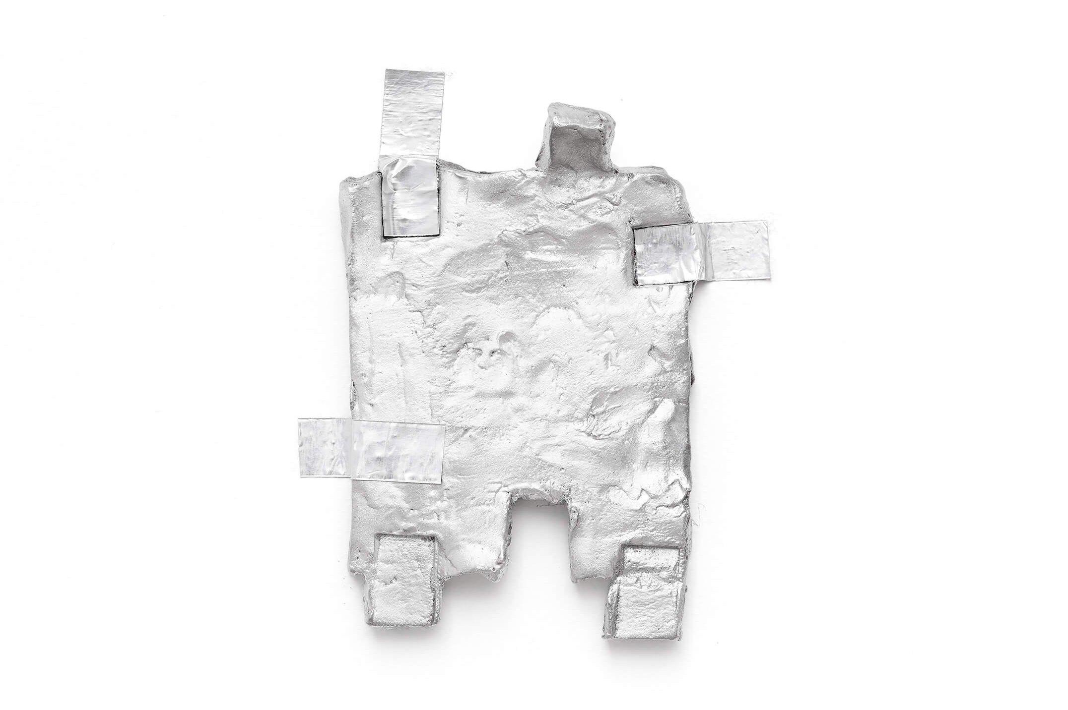 Paulo Monteiro,<em>untitled</em>, 2015, aluminum, 25 × 22 cm - Mendes Wood DM