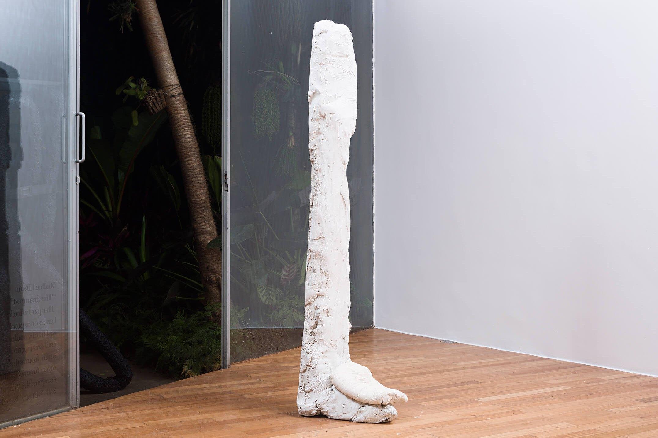 Michael Dean, <em>Analogue Series (Muscles)</em>, 2015, concrete, 1,72 × 34 × 46 cm - Mendes Wood DM