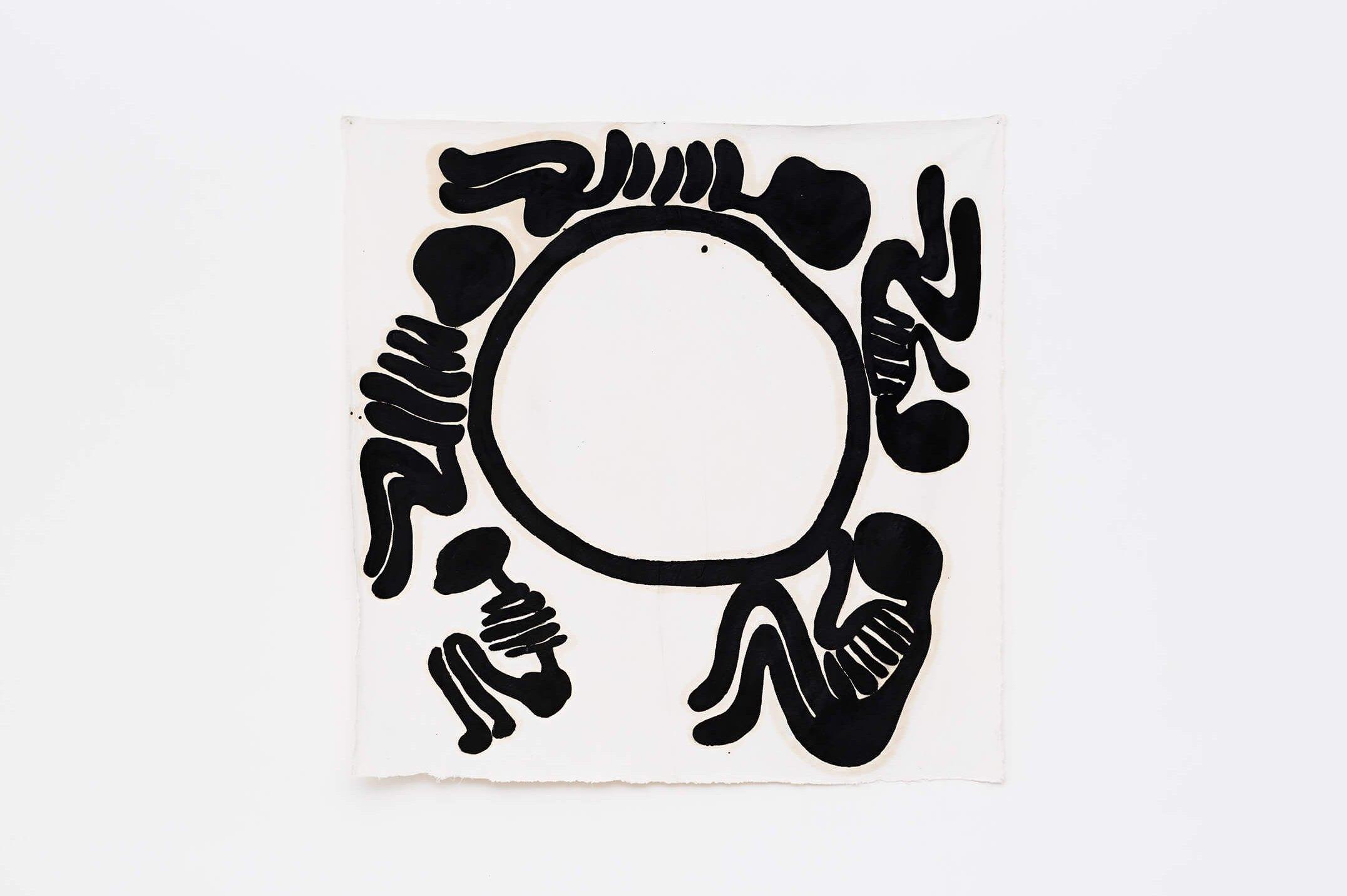 Solange Pessoa, <em>untitled</em>, 2008,oil on canvas,160 × 160 cm - Mendes Wood DM