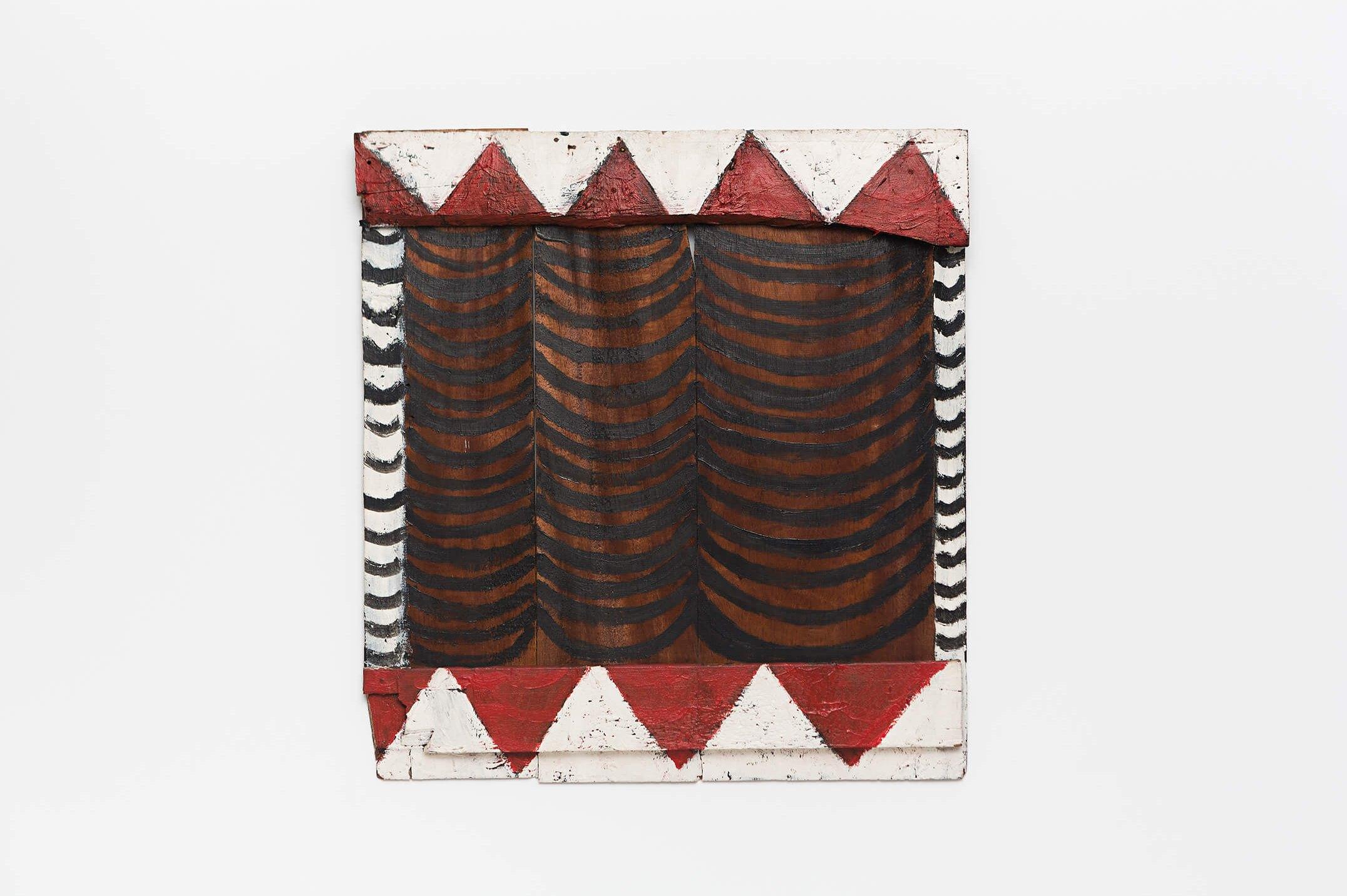 Celso Renato,<em>untitled</em>,acrylic on wood, 1977, 53 ×49 × 4,5cm - Mendes Wood DM