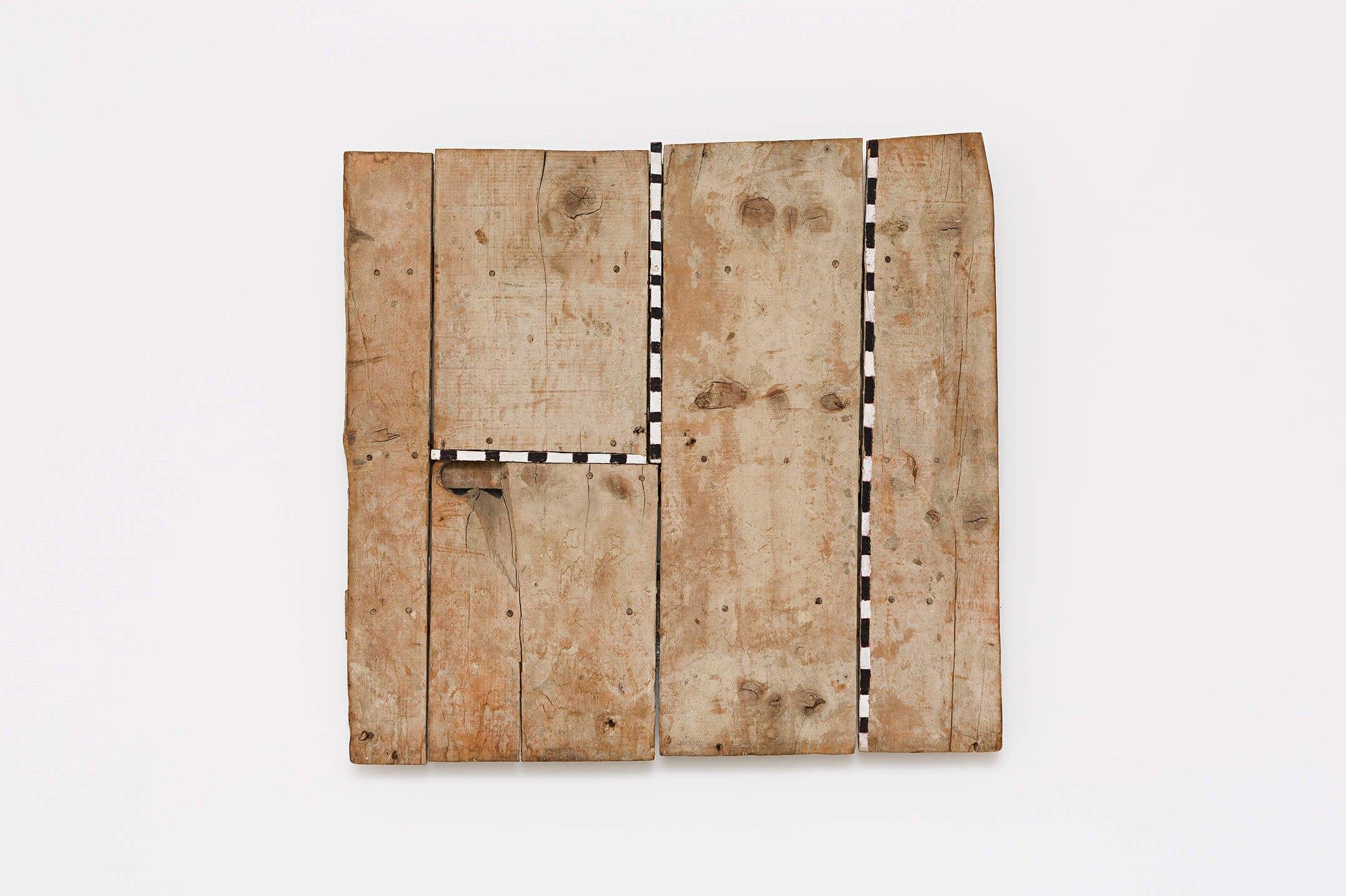 Celso Renato, <em>untitled</em>,1985, acrylic on wood, 79 × 85 cm - Mendes Wood DM