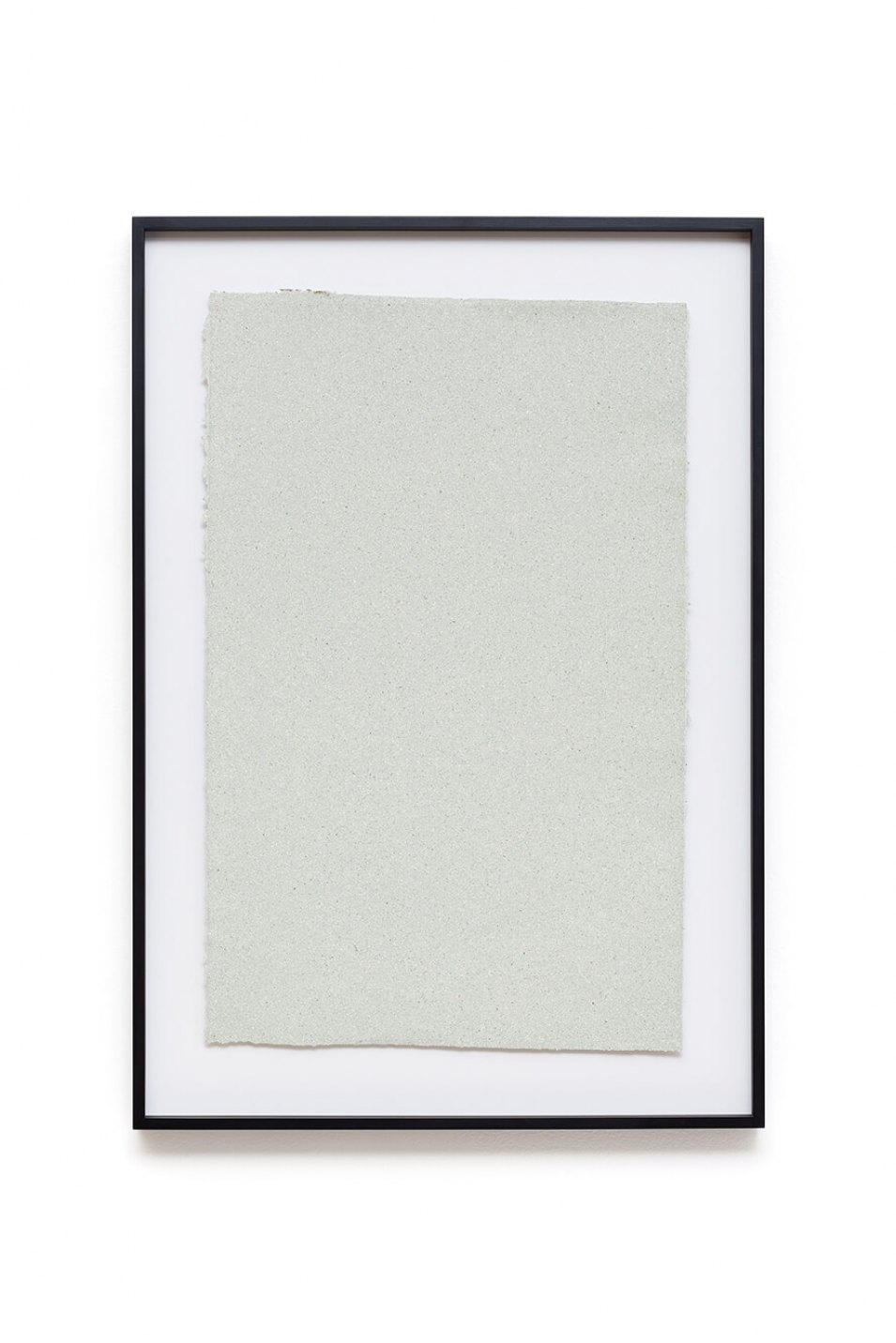 Christodoulos Panayiotou, <em>Pulp</em>, 2014, pulp painting (dollar notes fiber), 85,5 × 59 cm - Mendes Wood DM