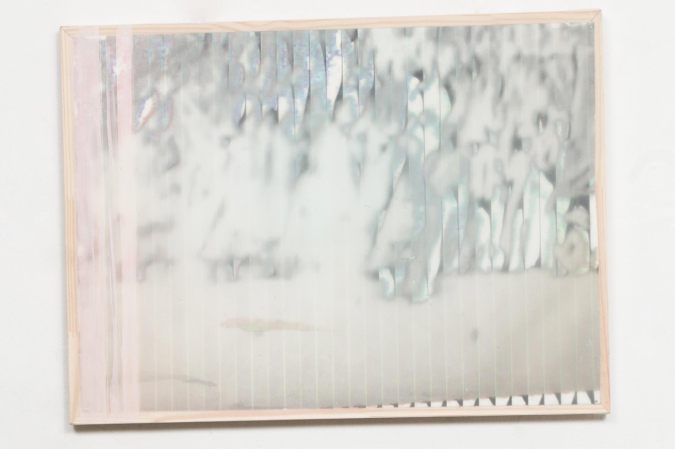 Marina Perez Simão,<em>untitled</em>, 2013,print on paper, polyester and reflector pigment, 44,5 × 60 cm - Mendes Wood DM