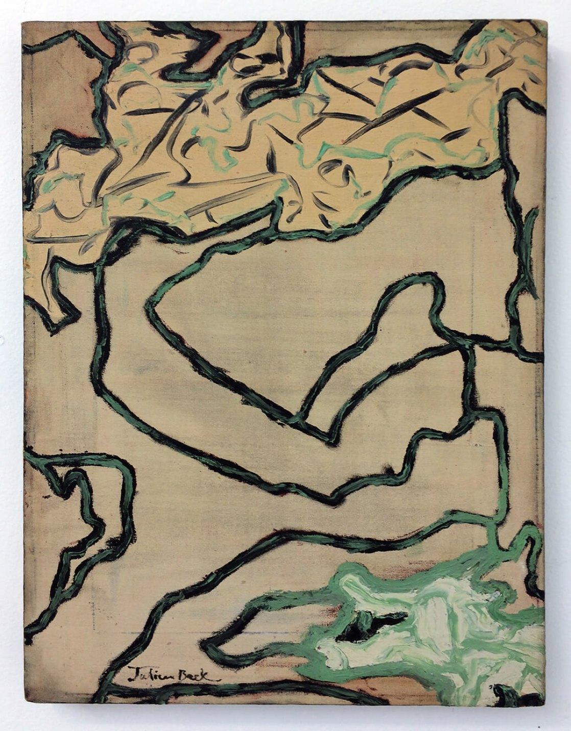 Julian Beck,<em>untitled</em>, 1945, oil on canvas, 41 × 30 cm - Mendes Wood DM