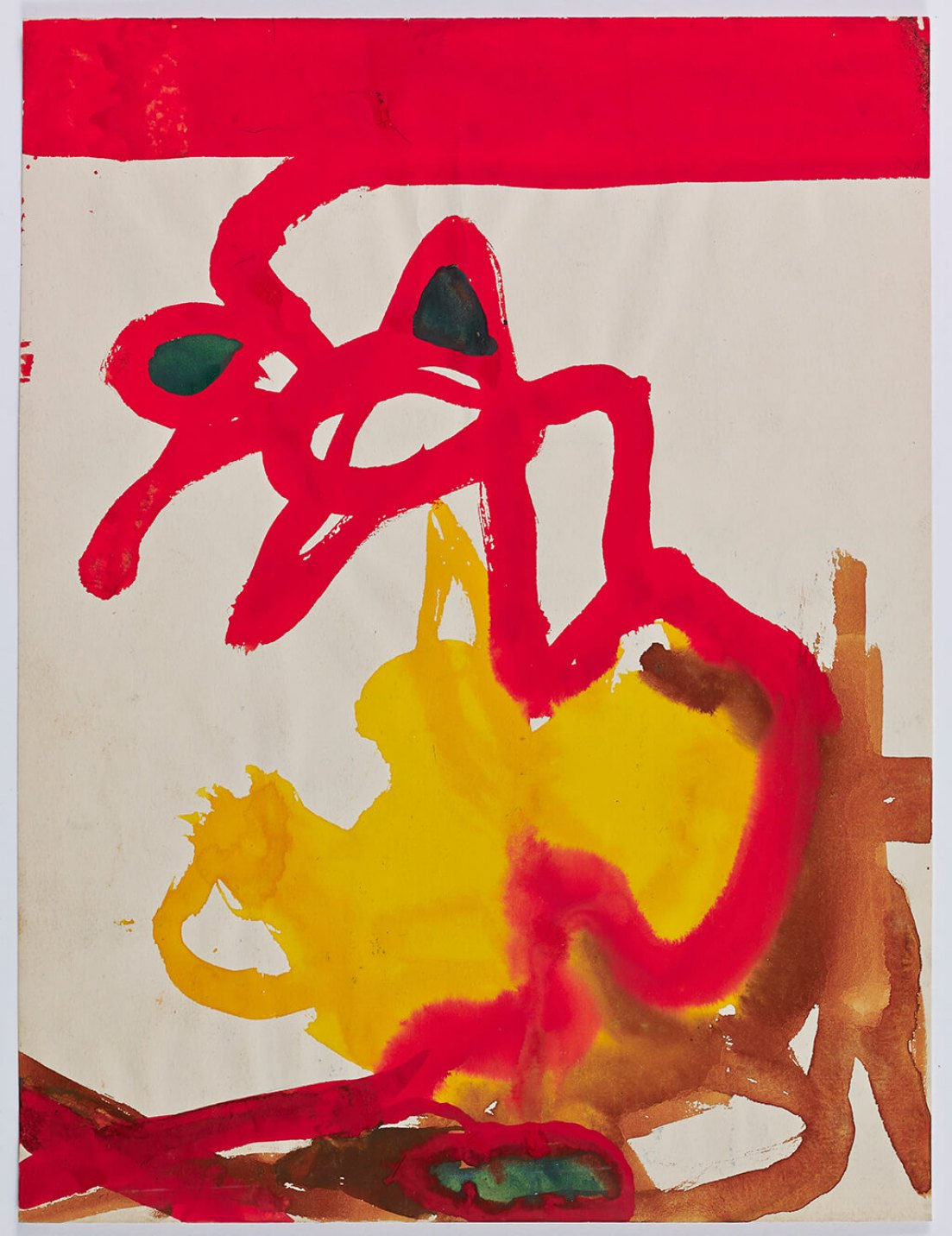 Julian Beck,<em>untitled</em>, 1944,mixed technique on paper, 30 × 21 cm - Mendes Wood DM