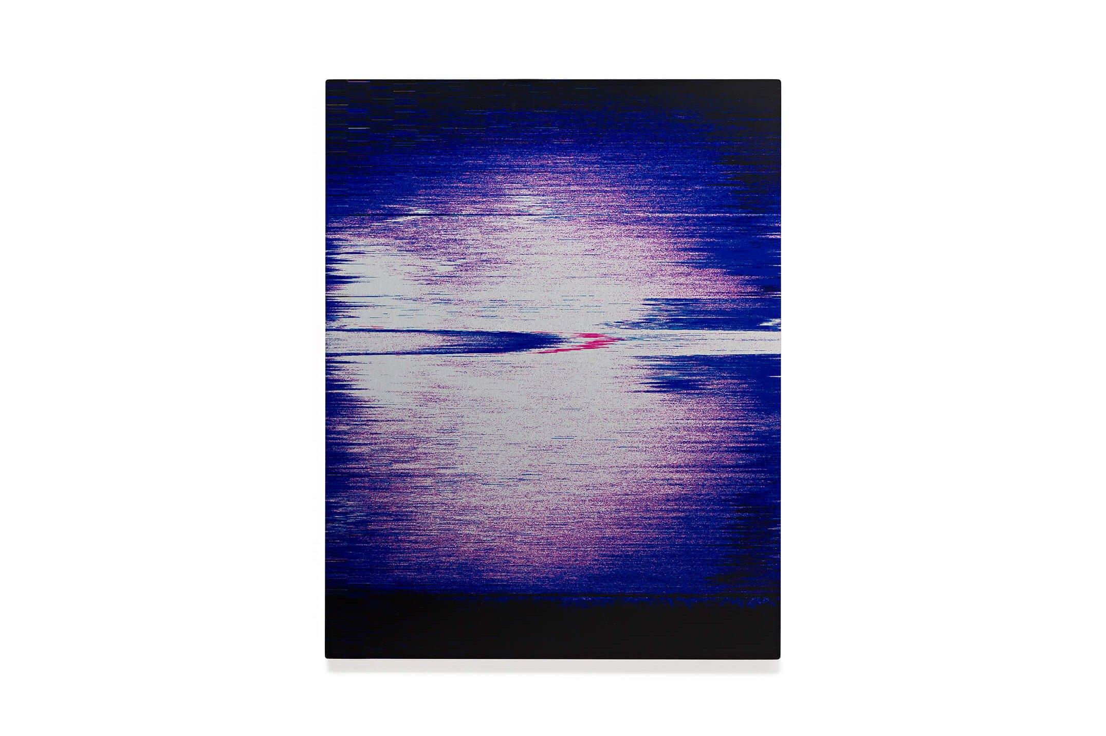 James Hoff,<em>Skywiper No. 16</em>, 2014,chromaluxe transfer on aluminum, 36 × 28 cm - Mendes Wood DM
